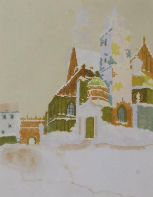 WŁADYSŁAW BIELECKI (1896-1943), Zestaw 3 drzeworytów z motywami Krakowa