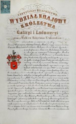 Certyfikat szlachectwa
