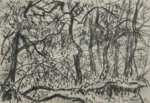 KAZIMIERZ PODSADECKI (1904-1970), Pejzaż, 1969