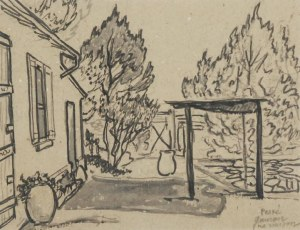 JEAN PÉSKE (1870-1949), Mój dom