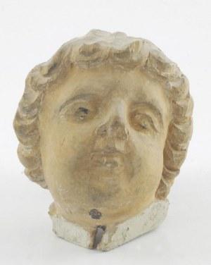Główka aniołka - rzeźba barokowa