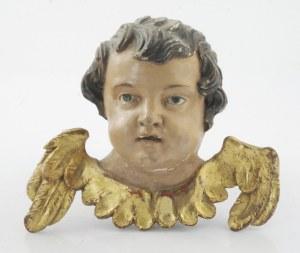Główka barokowego amorka