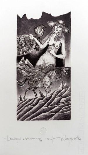 Jerzy Waygart, Dziewczyna z krukiem, 2004