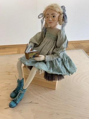 Monika Szambelan-Althamer, Dziewczynka z książką, 2018