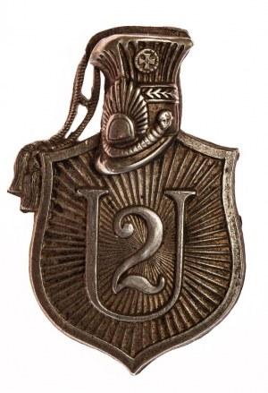 ODZNAKA 2 PUŁKU UŁANÓW LEGIONOWYCH wz. 1921