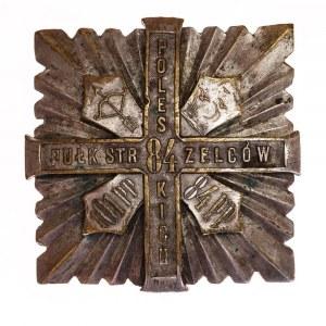 ODZNAKA 84 PUŁKU STRZELCÓW POLESKICH wz. 1935