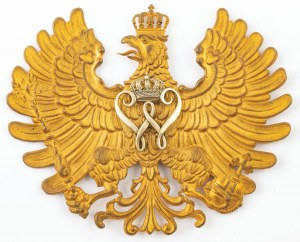 ORZEŁ PRUSKIEGO OFICERA POLICJI wz. 1896