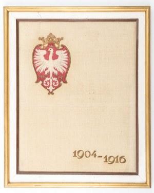 TABLICA Z ORŁEM – GODŁEM POLSKI, po 1917