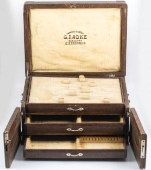 KANTYNA NA SZTUĆCE, Polska, Warszawa, firma Gustaw Radke, po 1908