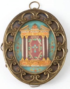 RELIKWIARZ, Włochy, XIX w.