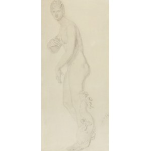 Olga BOZNAŃSKA (1865-1940), Wenus Kapitolińska - studium akademickie, 1882