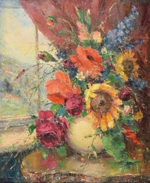 Włodzimierz TERLIKOWSKI (1873-1951), Kwiaty w wazonie