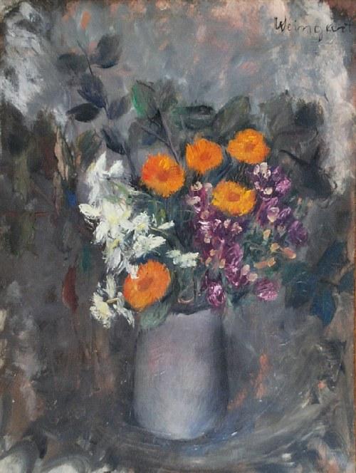 Joachim WEINGART (1895-1942), Kwiaty w wazonie