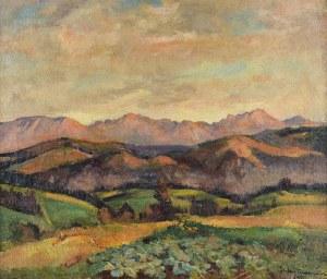 Stefan FILIPKIEWICZ (1879-1944), Widok na Tatry, 1932