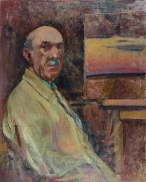 Stanisław CZAJKOWSKI (1878-1954), Autoportret, 1953-1954