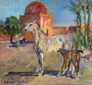 Wojciech KOSSAK (1856-1942), Z moich wrażeń - Motyw z Maroka, 1936