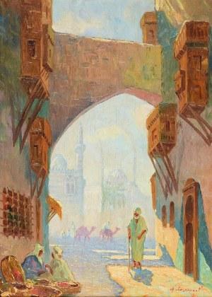 Aleksander LASZENKO (1883-1944), Ulica arabska