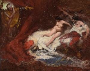 Włodzimierz TETMAJER (1862-1923), Grzech królewski zdemaskowany [Przyłapani kochankowie]