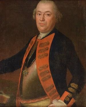 Malarz nieokreślony, niemiecki, XVIII w., Portret generała Levina Friedricha von Hake - gubernatora Szczecina