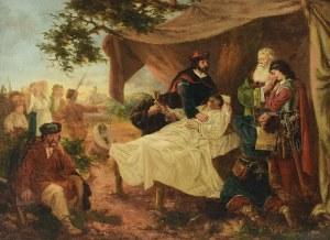 Henryk PILLATI (1832-1894) - przypisywany, Śmierć Władysława Łokietka