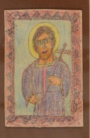 Nikifor KRYNICKI (1895-1968), Święty