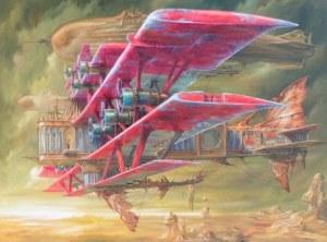 Jarosław Jaśnikowski, Czerwony samolot