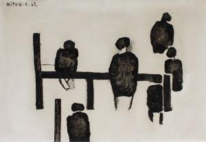 Witold K. (Leszek Wit Kaczanowski), Na żerdzi, 1967r.