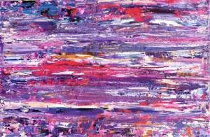 Gossia Zielaskowska, Violet Orange Pink Map, 2019r.