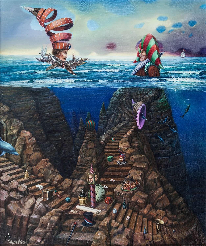 Tomasz SĘTOWSKI (ur. 1961), Wodny świat, 2001