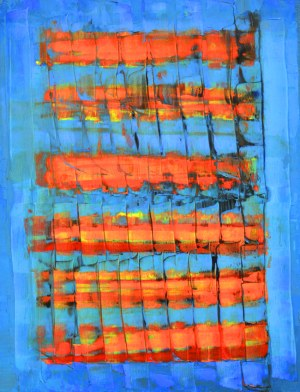 Ernest ZAWADA, Abstrakcja, 2018 r.