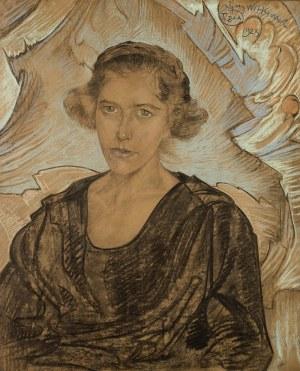 Stanisław Ignacy Witkiewicz (1885 Warszawa - 1939 Jeziory na Polesiu), Portret kobiety, 1923 r.