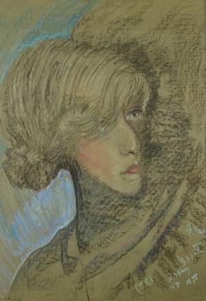 Stanisław Ignacy Witkiewicz (1885 Warszawa - 1939 Jeziory na Polesiu), Portret Felicji Turowskiej, 1931 r.