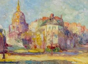 Włodzimierz Terlikowski (1873 wieś pod Warszawą - 1951 Paryż), Kościół Inwalidów w Paryżu, 1914 r.