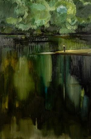 Stanisław Baj (ur. 1953, Dołhobrody), Rzeka Bug w Dołhobrodach, 2004 r.
