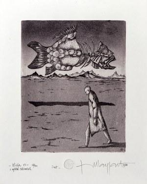"""Jerzy Waygart, Wizja XV z cyklu """"Człowiek"""", 1988"""