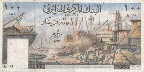 Algeria, 100 Francs, 1964, XF (-), p125