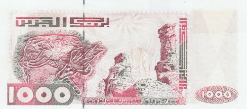 Algeria, 1000 Dinars, 1992, UNC, p140
