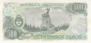 Argentina, 500 Pesos, 1974, UNC, p298