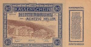 Austria, 80 Heller, 1920, AUNC, pS118