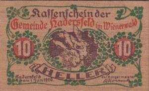 Austria, Notgeld, 10 Heller, 1920, UNC
