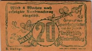 Austria, Notgeld, 20 Heller, 1920, UNC