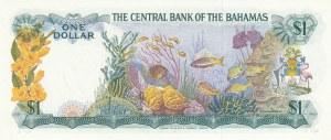 Bahamas, 1 Dollar, 1974, UNC, p35a