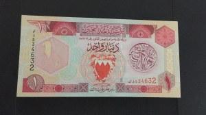 Bahrain, 1 Dinar, 1998, UNC, p19b