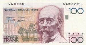 Belgium, 100 Francs, 1982-94, UNC, p142a
