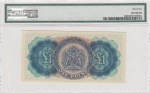Bermuda, 1 Pound, 1966, ÇİL, p20d