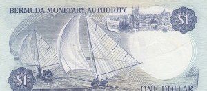 Bermuda, 1 Dollar, 1982, AUNC, p28b