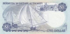 Bermuda, 1 Dollar, 1982, UNC, p28b