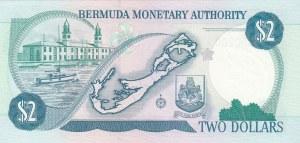 Bermuda, 2 Dollars, 1996, UNC, p40Aa