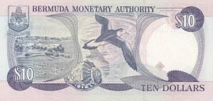Bermuda, 10 Dollars, 1999, UNC, p42d (very low number)