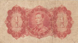 British Guiana, 1 Dollar, 1942, FINE, p12c